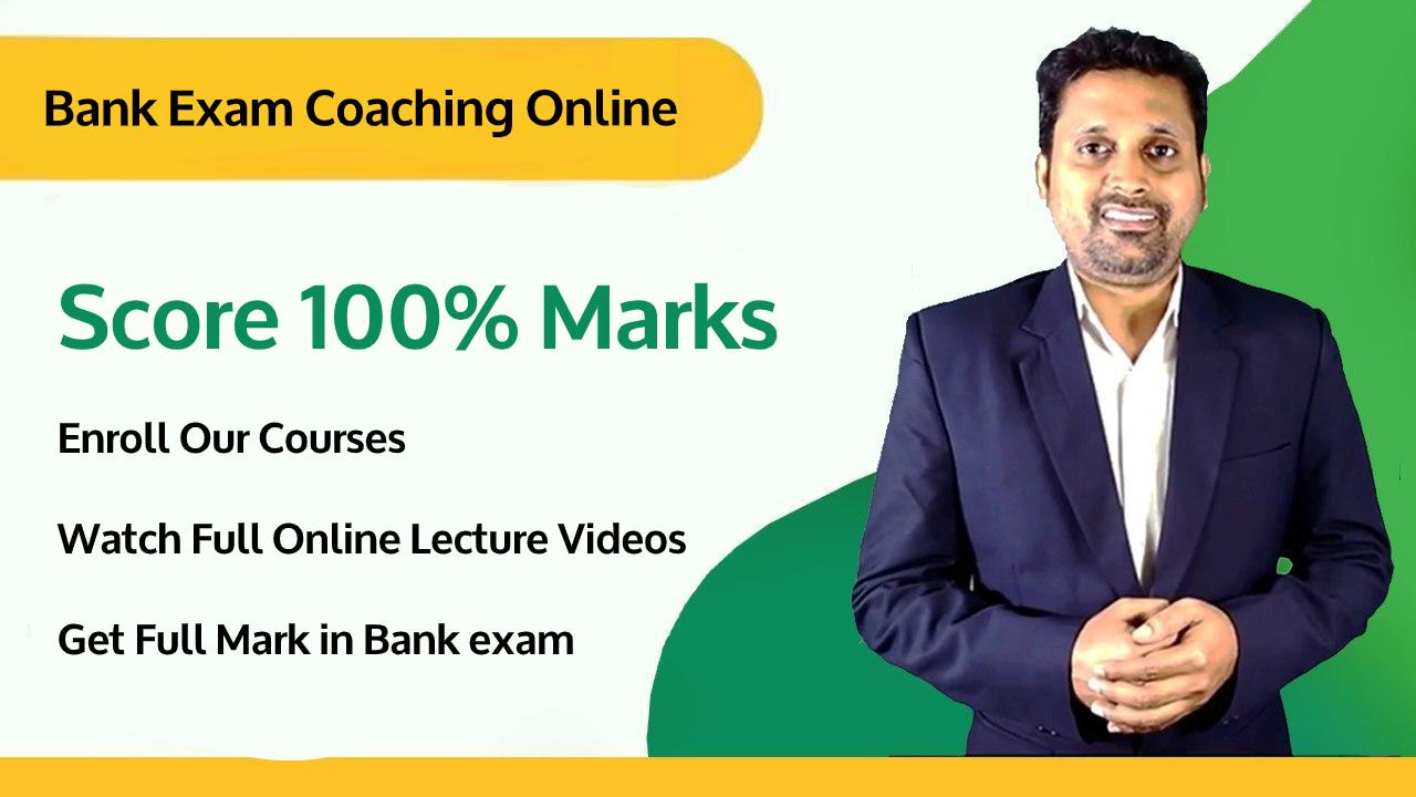 bank exam coaching online